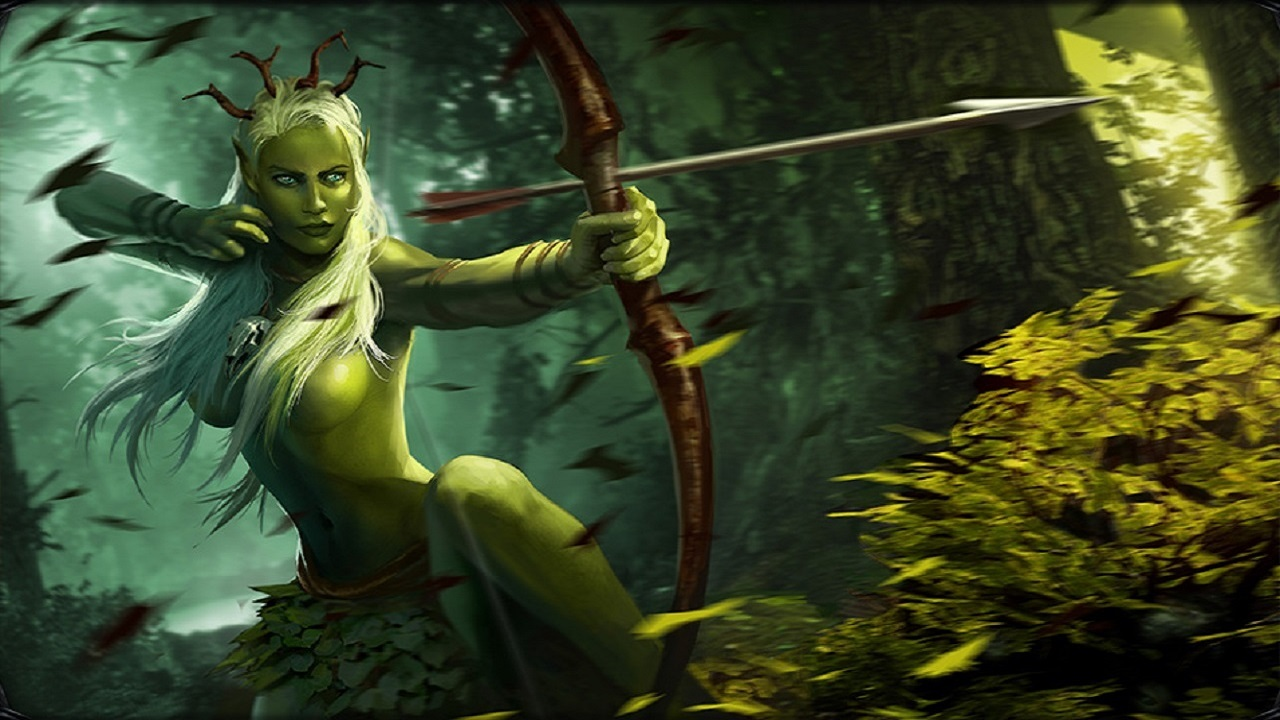 Dryad in witcher porn picture