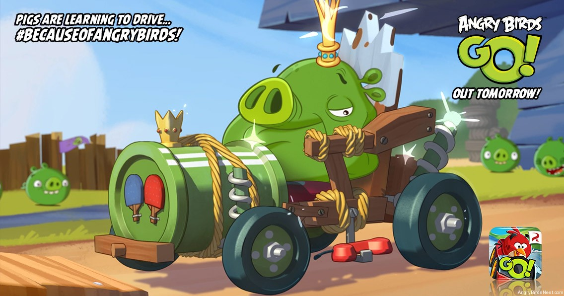 Angry-Birds-GO-King-Pig-Tuning-Lesson-Featured-Image